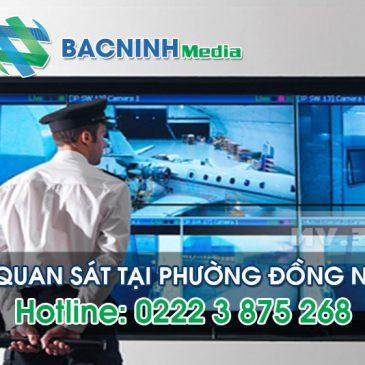 Dịch vụ lắp đặt camera quan sát tại phường Đồng Nguyên thị xã Từ Sơn