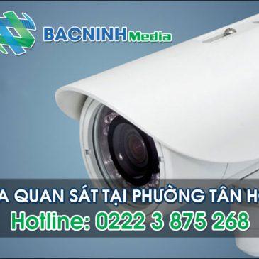 Dịch vụ lắp đặt camera quan sát tại phường Tân Hồng thị xã Từ Sơn