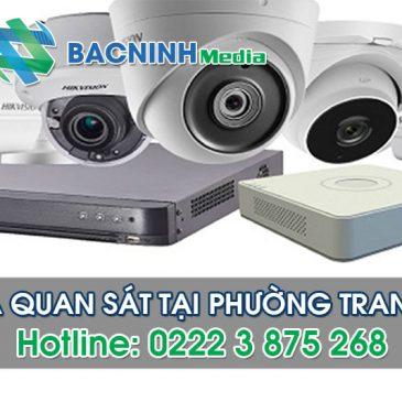 Dịch vụ lắp đặt camera quan sát tại phường Trang Hạ thị xã Từ Sơn