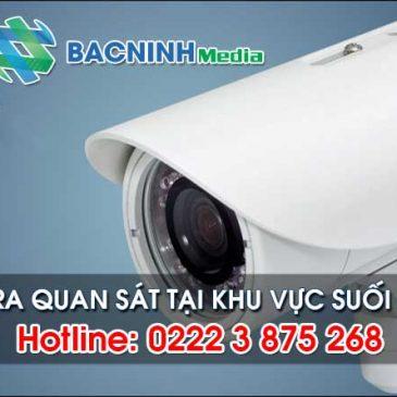 Trọn bộ camera quan sát cho khách hàng khu vực Suối Hoa, Bắc Ninh hotline: 02226536789