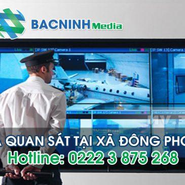 Lắp đặt camera quan sát tại Đông Phong huyện Yên Phong