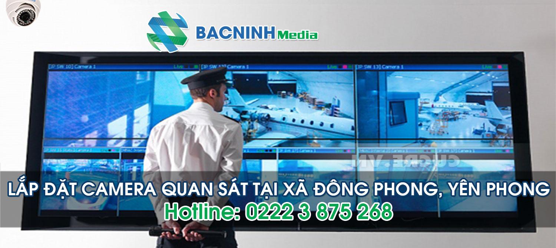 Lắp đặt camera quan sát tại xã Đông Phong huyện Yên Phong Bắc Ninh