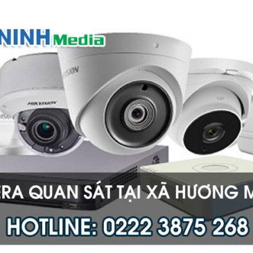 Đơn vị lắp đặt camera quan sát tại Hương Mạc, Từ Sơn, Bắc Ninh