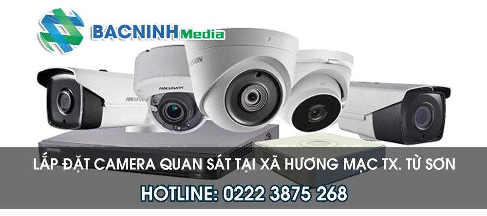 Dịch vụ lắp đặt camera tại Xã Hương Mạc thị xã Từ Sơn Bắc Ninh