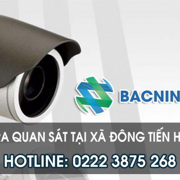 Lắp camera quan sát tại Đông Tiến huyện Yên Phong Bắc Ninh