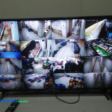 Thi công hệ thống camera cho công ty SkyTec KCN Quế Võ 2