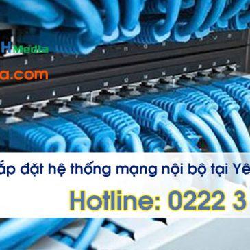 Thi công lắp đặt mạng LAN KCN yên Phong, Bắc Ninh