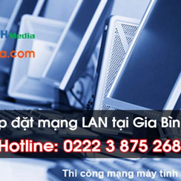 Thi công lắp đặt mạng LAN tại Huyện Gia Bình, Bắc Ninh
