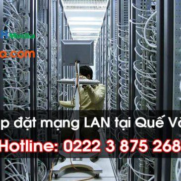 Thi công lắp đặt mạng LAN tại Quế Võ, Bắc Ninh