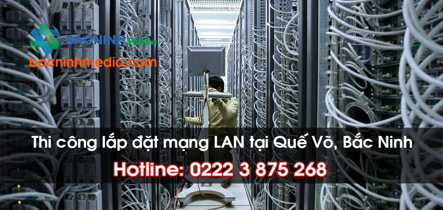 lắp đặt mạng LAN tại Quế Võ, Bắc Ninh