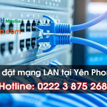 Thi công lắp đặt mạng LAN tại Huyện Yên Phong, Bắc Ninh