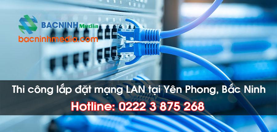 Thi công lắp đặt hệ thống an ninh camera quan sát tại khu công nghiệp Yên Phong Bắc Ninh