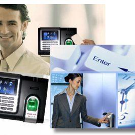 máy chấm công kết hợp hệ thống quản lý truy cập