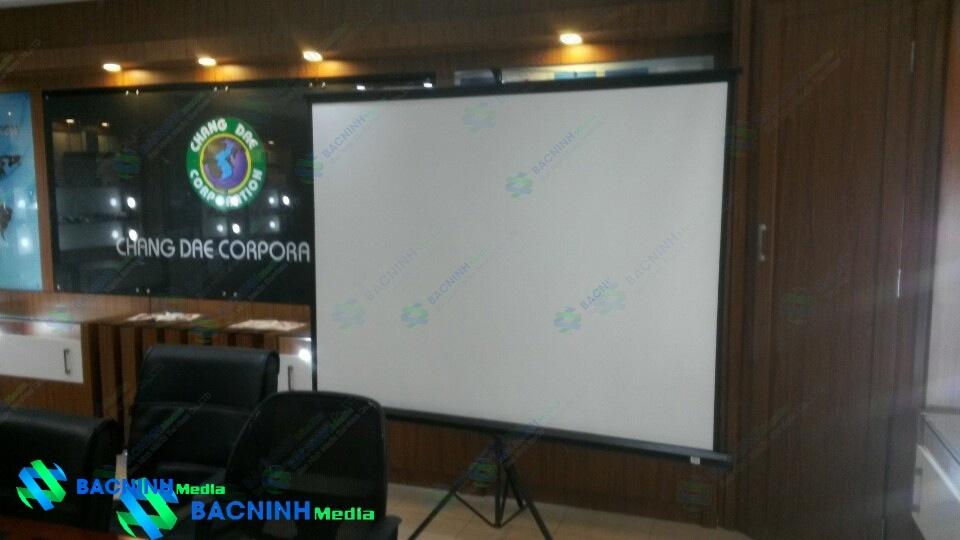 Lắp đặt hệ thống máy chiếu cho công ty Chang Dae