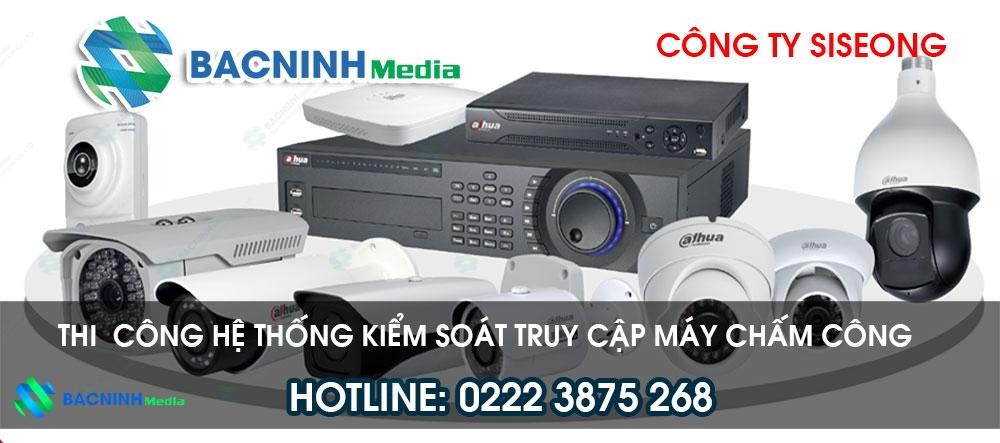 Thi công lắp đặt hệ thống camera quan sát tại công ty Siseong Bắc Ninh