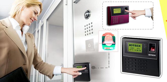 Kết hợp thiết bị kiểm soát cửa ra vào và chấm công hiệu quả tiết kiệm
