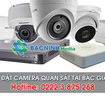 Công ty lắp đặt hệ thống an ninh, camera quan sát tại Bắc Giang