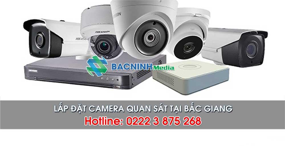 Dịch vụ lắp đặt camera tại khu vực thành phố bắc Giang