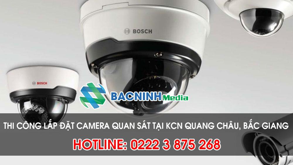 Dịch vụ lắp đặt camera tại KCN Quang Châu huyện Việt Yên Bắc Giang