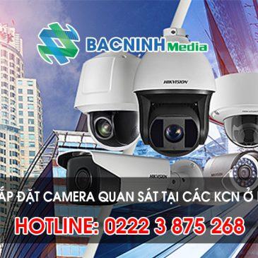 Chúng tôi chuyênlắp đặt camera tại các KCN tỉnh Bắc Giang