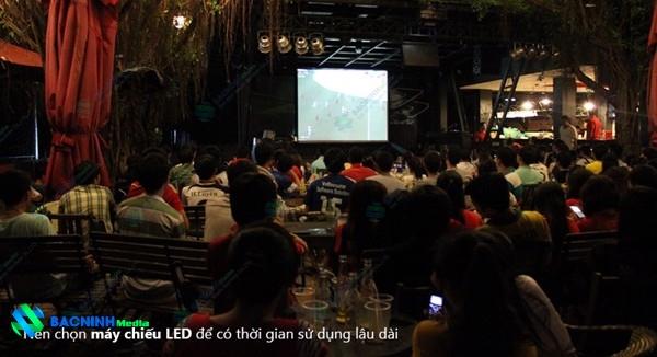Đơn vị cho thuê máy chiếu màn chiếu tại Bắc Ninh uy tín