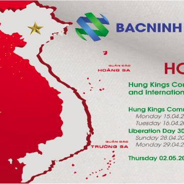 Bac Ninh Media Holiday Notice