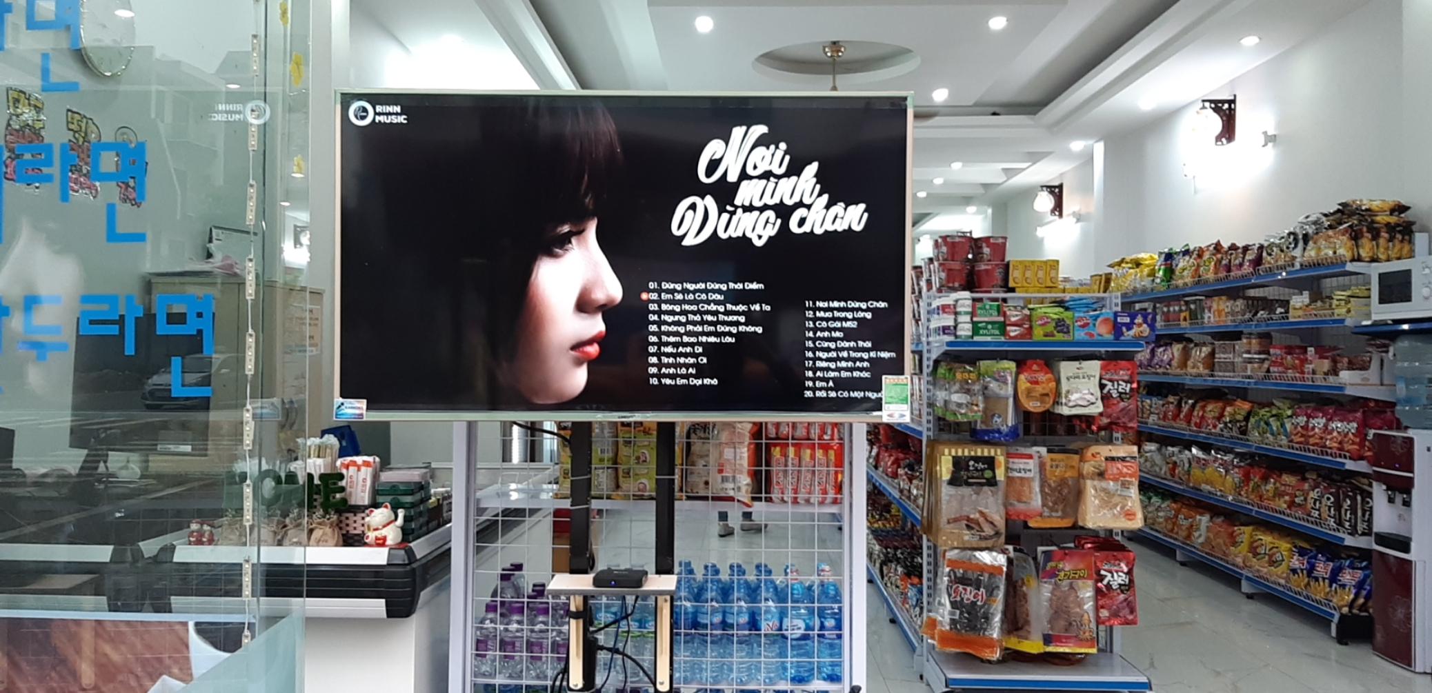 Thi công hệ thống camera quan sát cho cửa hàng HomeMart