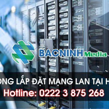 Thi công lắp đặt mạng LAN tại Hà Nội chất lượng