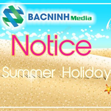 Calendar notifications annual vacation of the Company in 2019