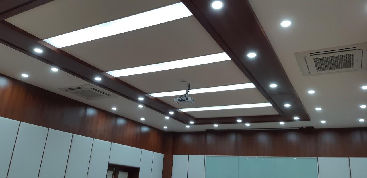 Thi công lắp đặt hệ thống trình chiếu tại công ty Siseong Bắc Ninh