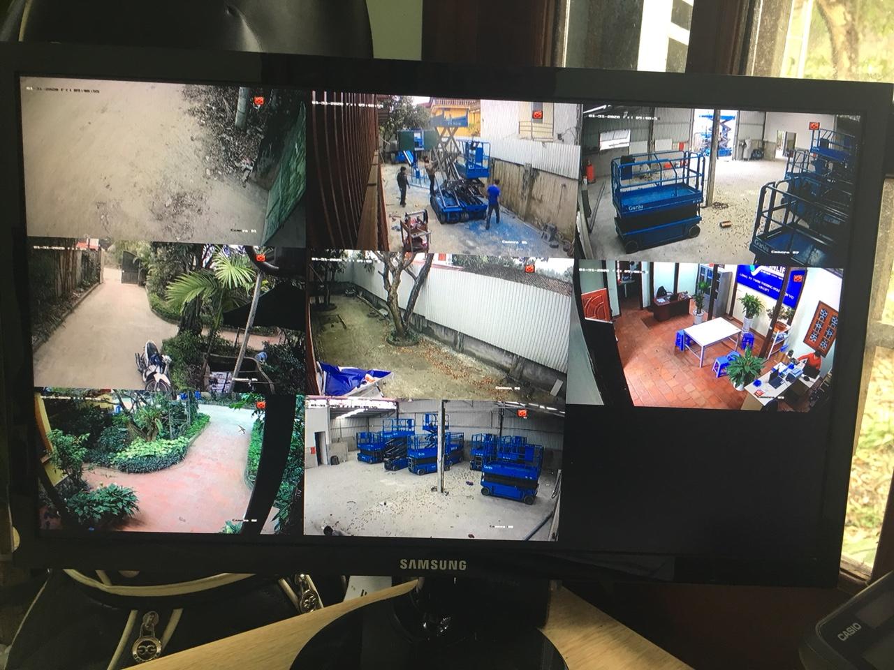 hệ thống camera quan sát gặp lỗi