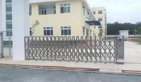 Tư vấn quy trình lắp đặt cổng xếp tự động