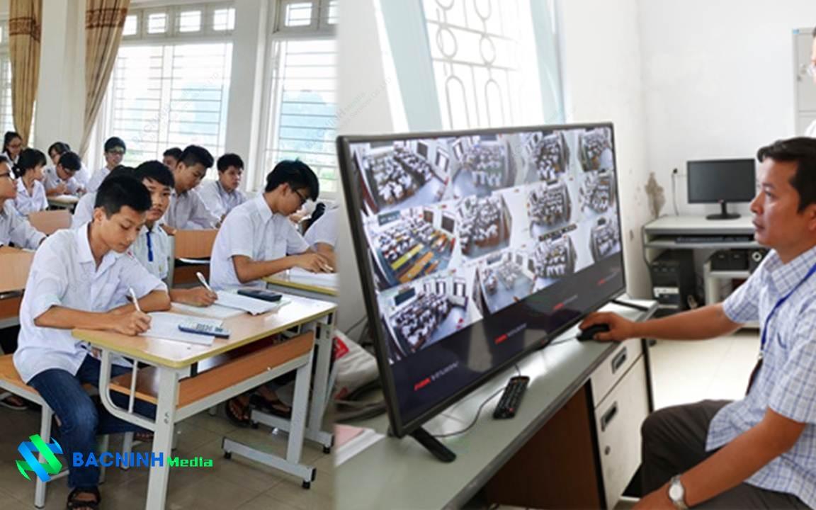 giải pháp camera giám sát trường học THPT
