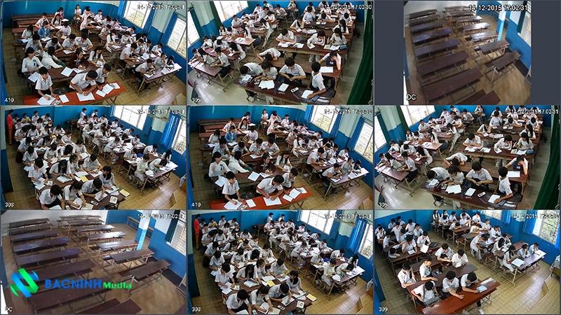 lắp đặt camera giám sát trường học
