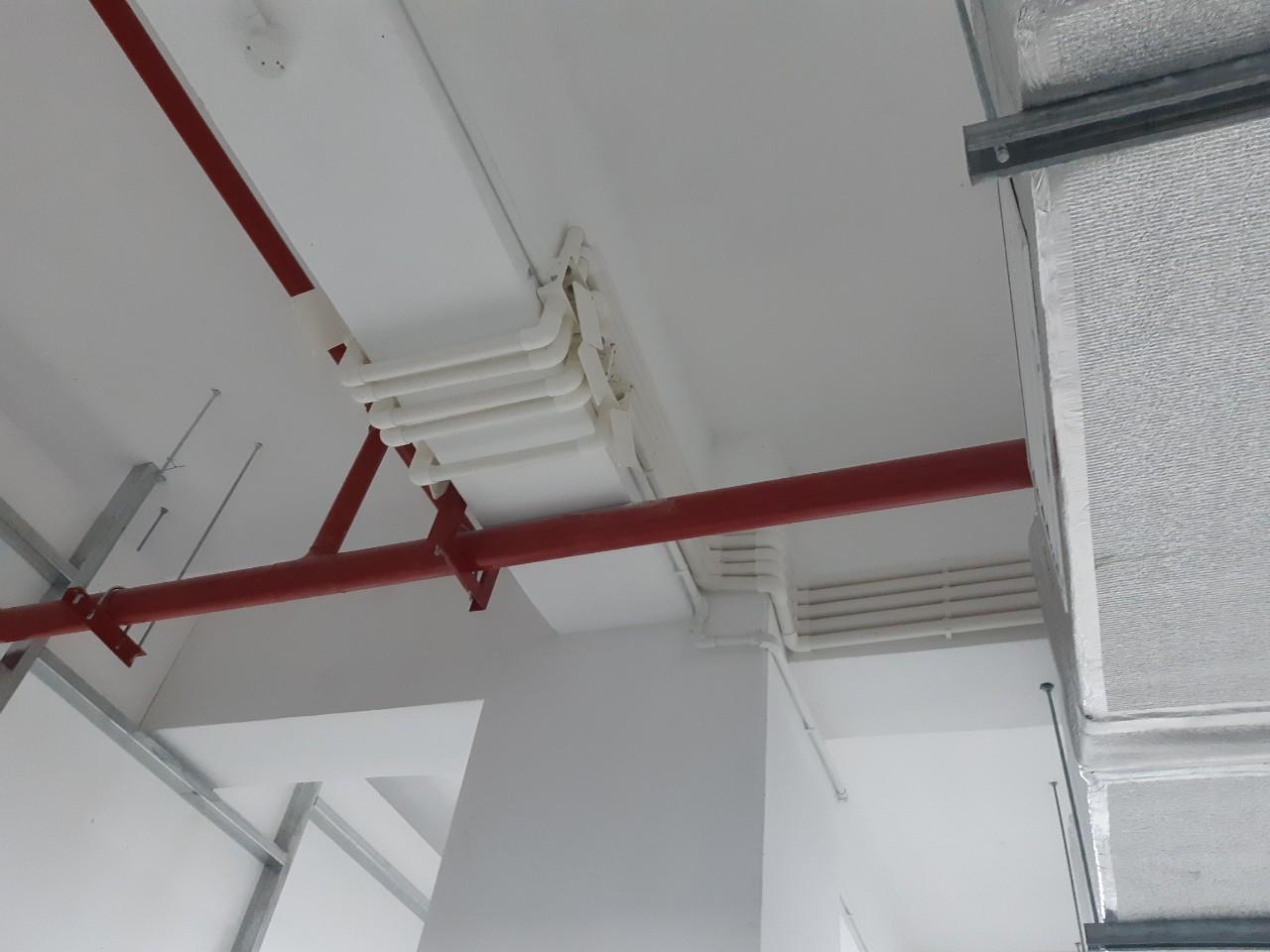 Thi công lắp đặt hệ thống âm thanh mạng nội bộ, tổng đài, khu nhà xưởng công ty Crystal Martin Tháng 8