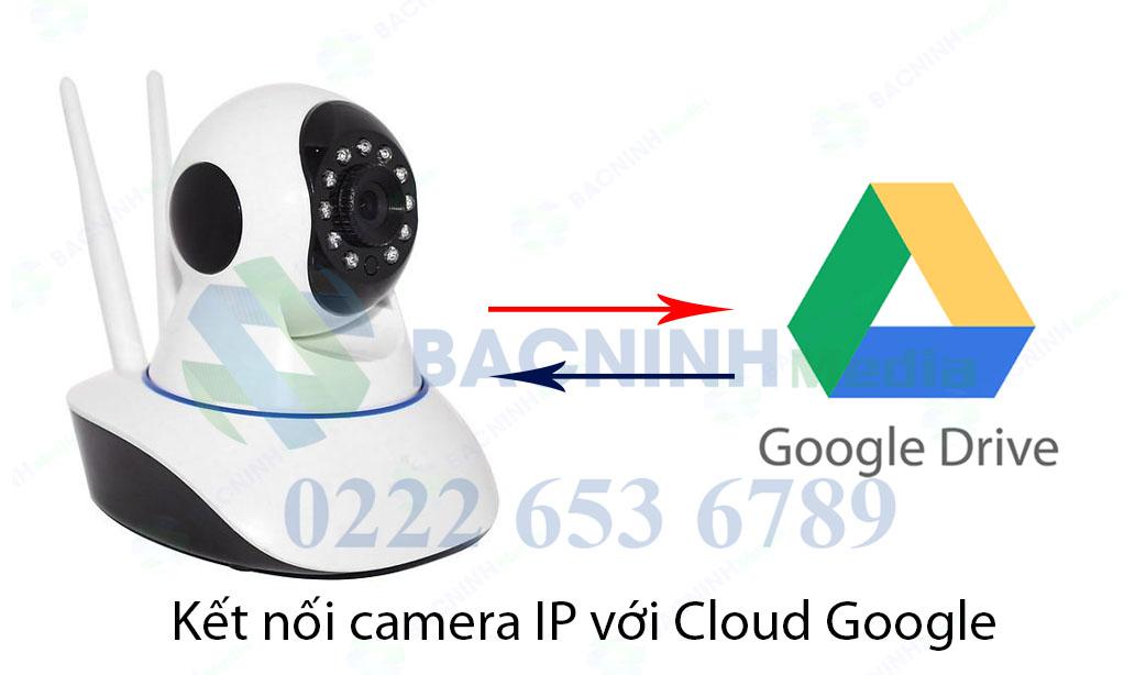 camera ip kế nối với cloud google