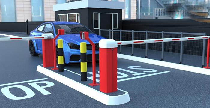 lắp đặt barie tự động cho nhà xe