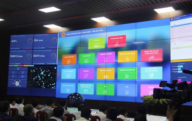 Bắc Ninh thí điểm Trung tâm điều hành thành phố thông minh - 2