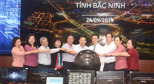 Bắc Ninh thí điểm Trung tâm điều hành thành phố thông minh - 1