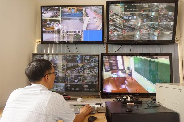 hệ thống camera giám sát trường học
