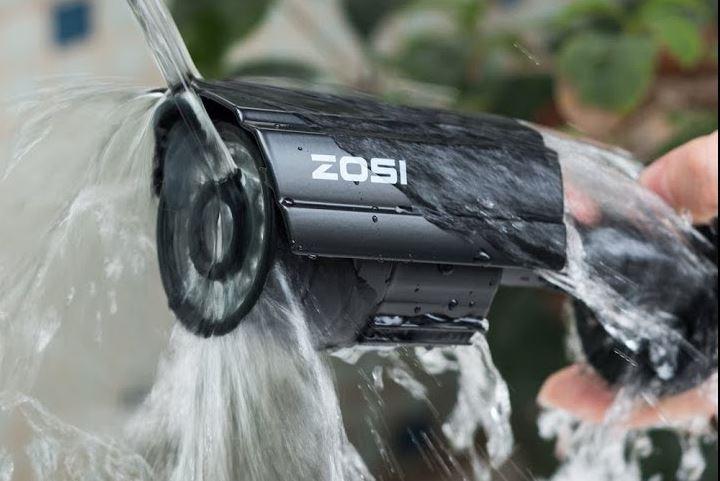 Nên chọn loại camera ngoài trời có tính năng chống nước.