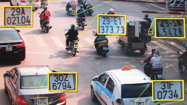 hệ thống camera giao thông phạt nguội