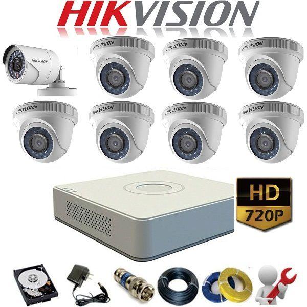 lắp đặt trọn gói camera quan sát hikvision