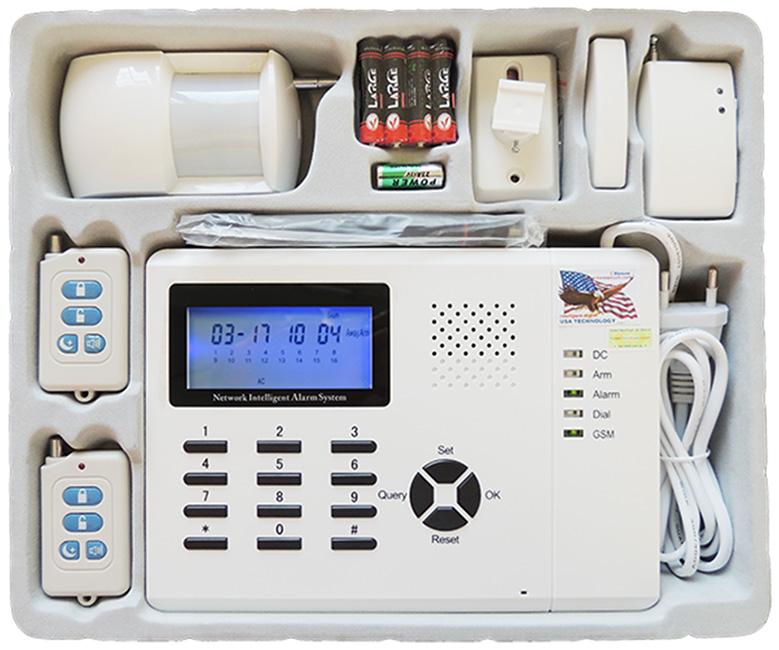 Tủ Trung Tâm KS-899I | Bộ báo động không dây Karassn