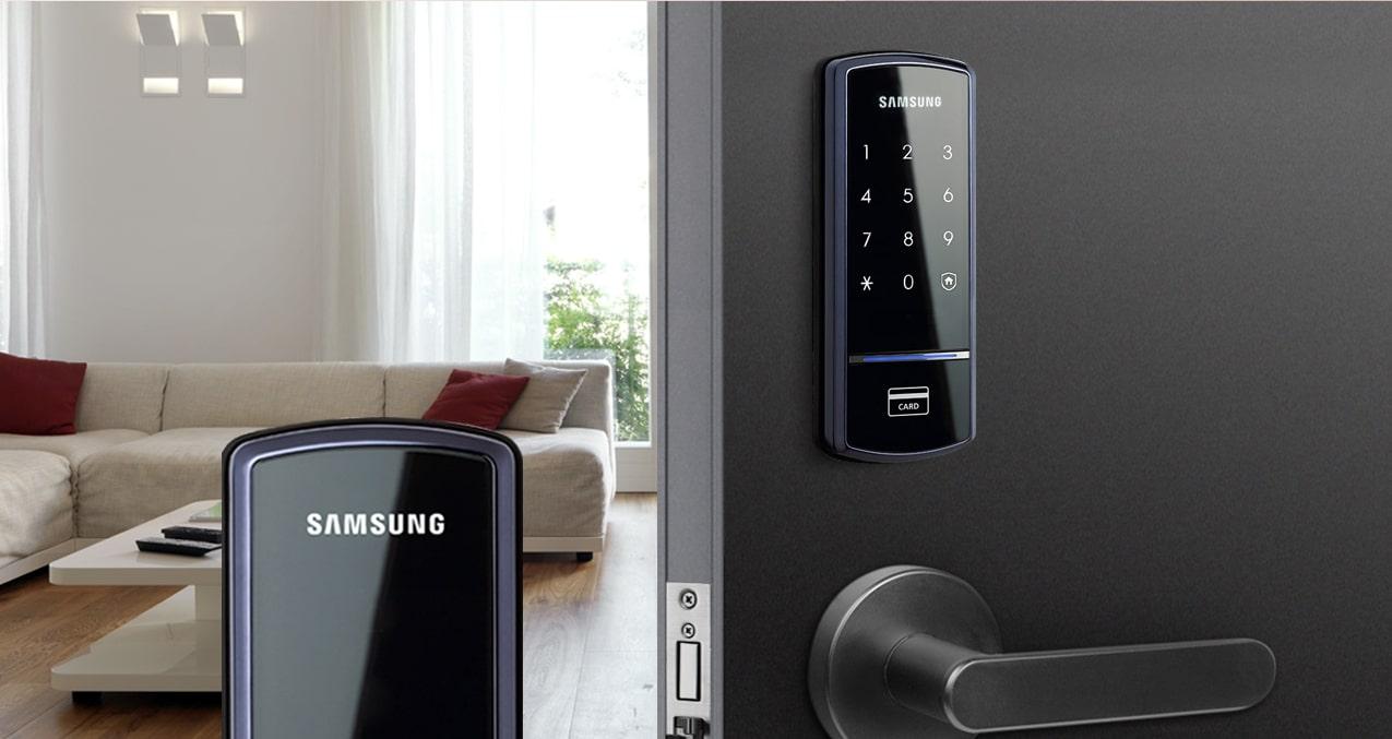 khóa cửa điện tử an toàn